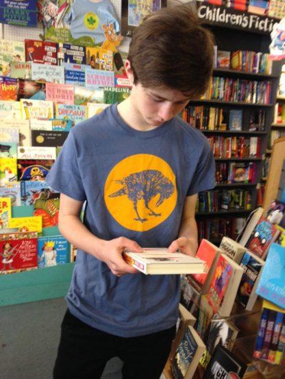 Blue Shirt Yellow Sun