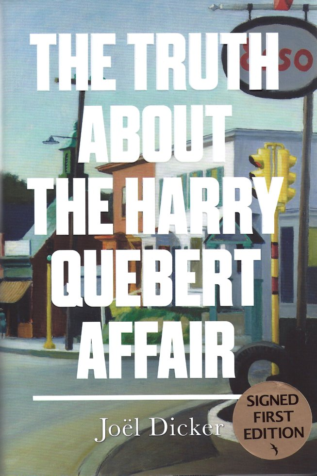The Truth About the Harry Quebert Affair-Joël Dicker
