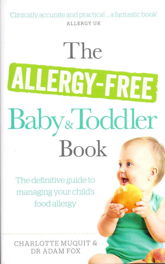 The Allergy-Free Baby & Toddler Book-Charlotte Muquit & DR Adam Fox