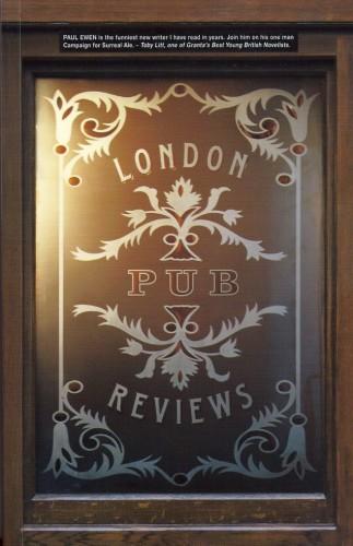 London Pub Reviews-Paul Ewen