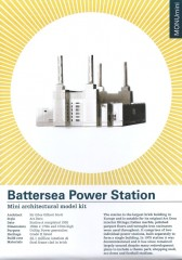 Battersea Power Station model kit-Anither Studio