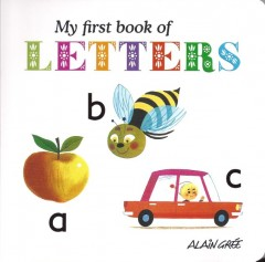 My First Book of Letters-Alain Grée