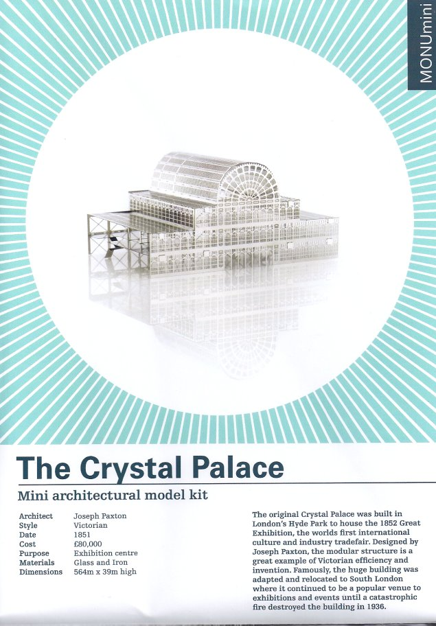 The Crystal Palace model kit-Another Studio