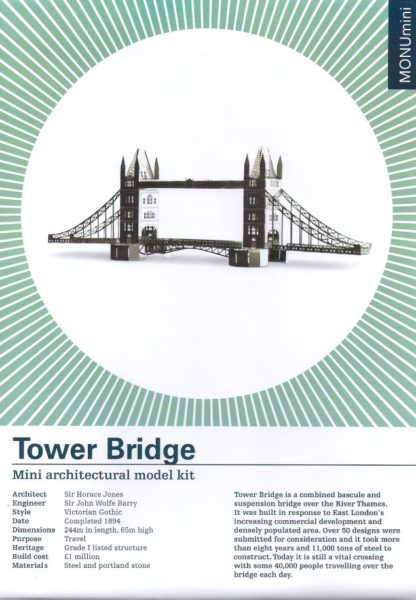 Tower Bridge model kit-Another Studio