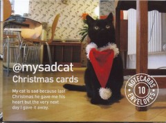 My Sad Cat Christmas Cards-Tom Cox