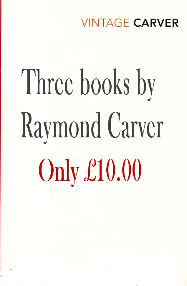 Three Books-Raymond Carver