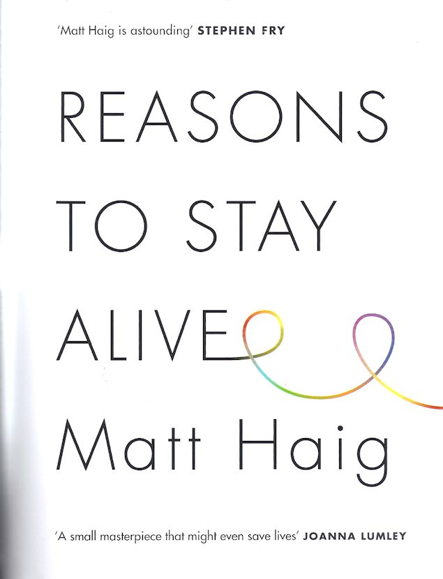 Reasons to Stay Alive-Matt Haig