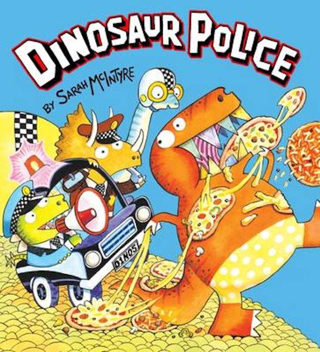 Dinosaur Police-Sarah McIntyre