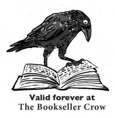 Bookseller Crow shop voucher