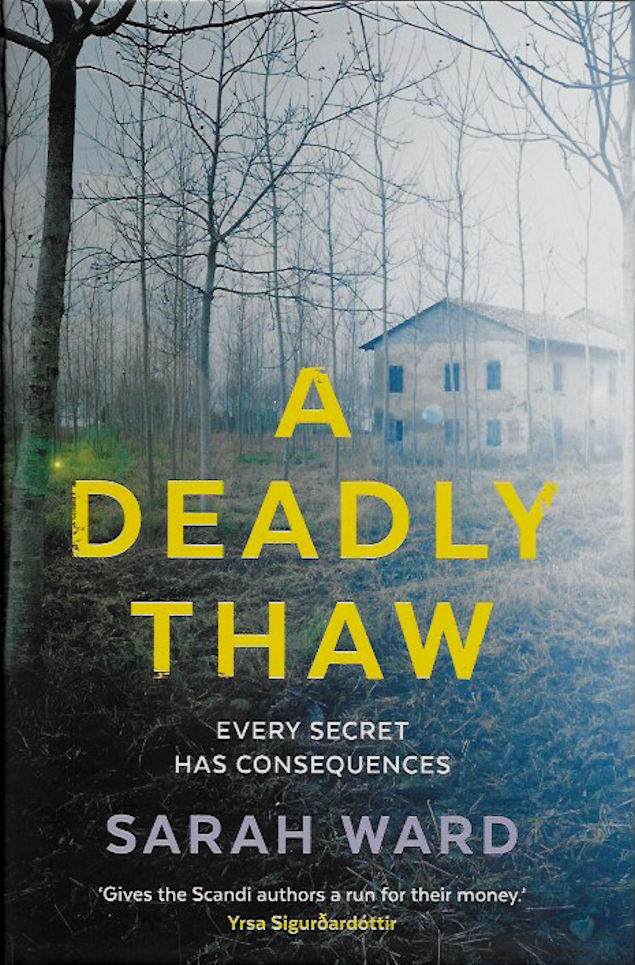 a-deadly-thaw-Sarah Ward