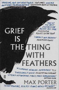 grief-is-the-thing-with-feathers-Max Porter