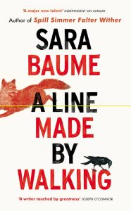 A Line Made by Walking-Sara Baume