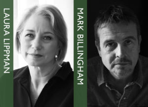 Laura Lippman and Mark Billingham in conversation. @ The Bookseller Crow | England | United Kingdom