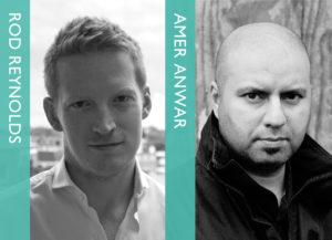 US Noir vs UK Noir: Rod Reynolds & Amer Anwar in conversation @ The Bookseller Crow | England | United Kingdom