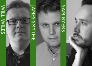 Will Wiles, James Smythe & Sam Byers in conversation. @ The Bookseller Crow | England | United Kingdom