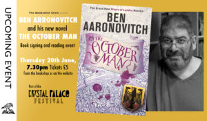Ben Aaronovitch - Reading and Signing @ The Bookseller Crow | England | United Kingdom
