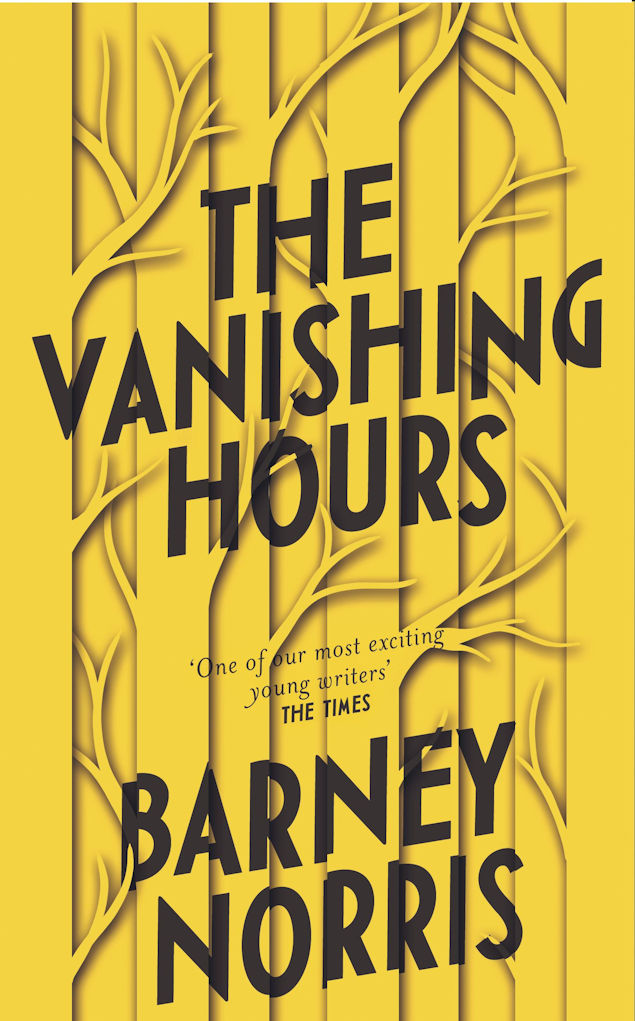 The Vanishing Hours-Barney Norris cover