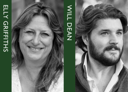 Crime night – Will Dean and Elly Griffiths reading and in conversation