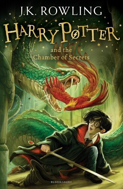 Harry Potter and the Chamber of Secrets-J K Rowling