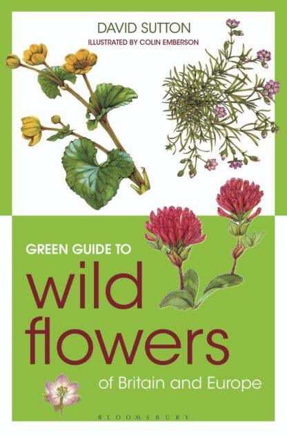 Green Guide To Wild Flowers of Britain and Europe-David Sutton