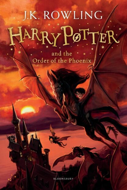 Harry Potter and the Order Of The Phoenix-J K Rowling