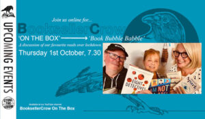 Book Bubble Babble with us three.