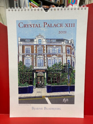 Crystal Palace calendar 2021-Bjarne Bladbjerg