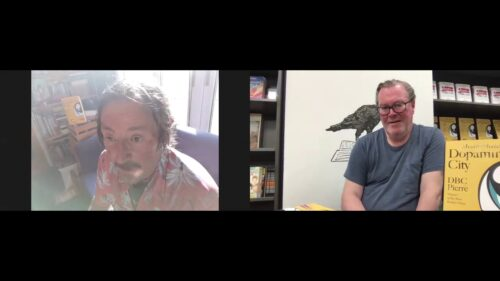 'Crow on the Box' with DBC Pierre