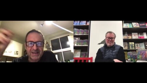 'Talks from an Empty Bookshop' with Mark Thomas