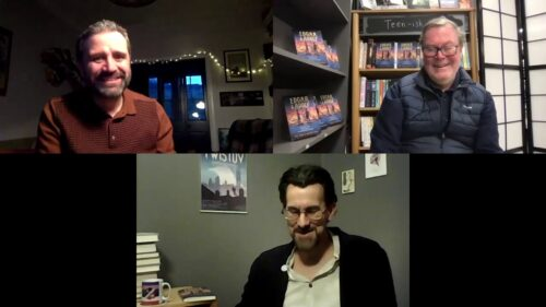 'Talks from an Empty Bookshop' with Phil Earle and Michael Wagg
