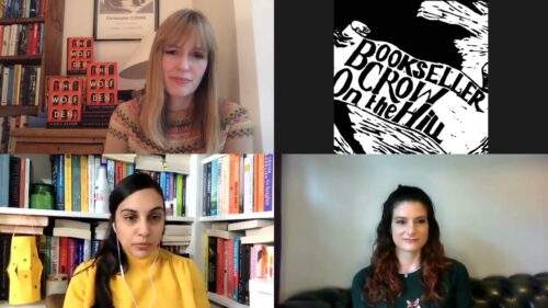 'Crow on the Box' with Elodie Harper and Caroline Lea