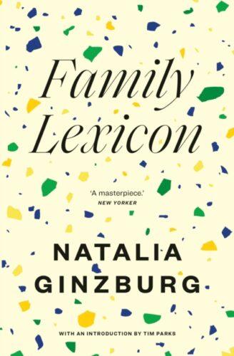 Family Lexicon-Natalia Ginzburg